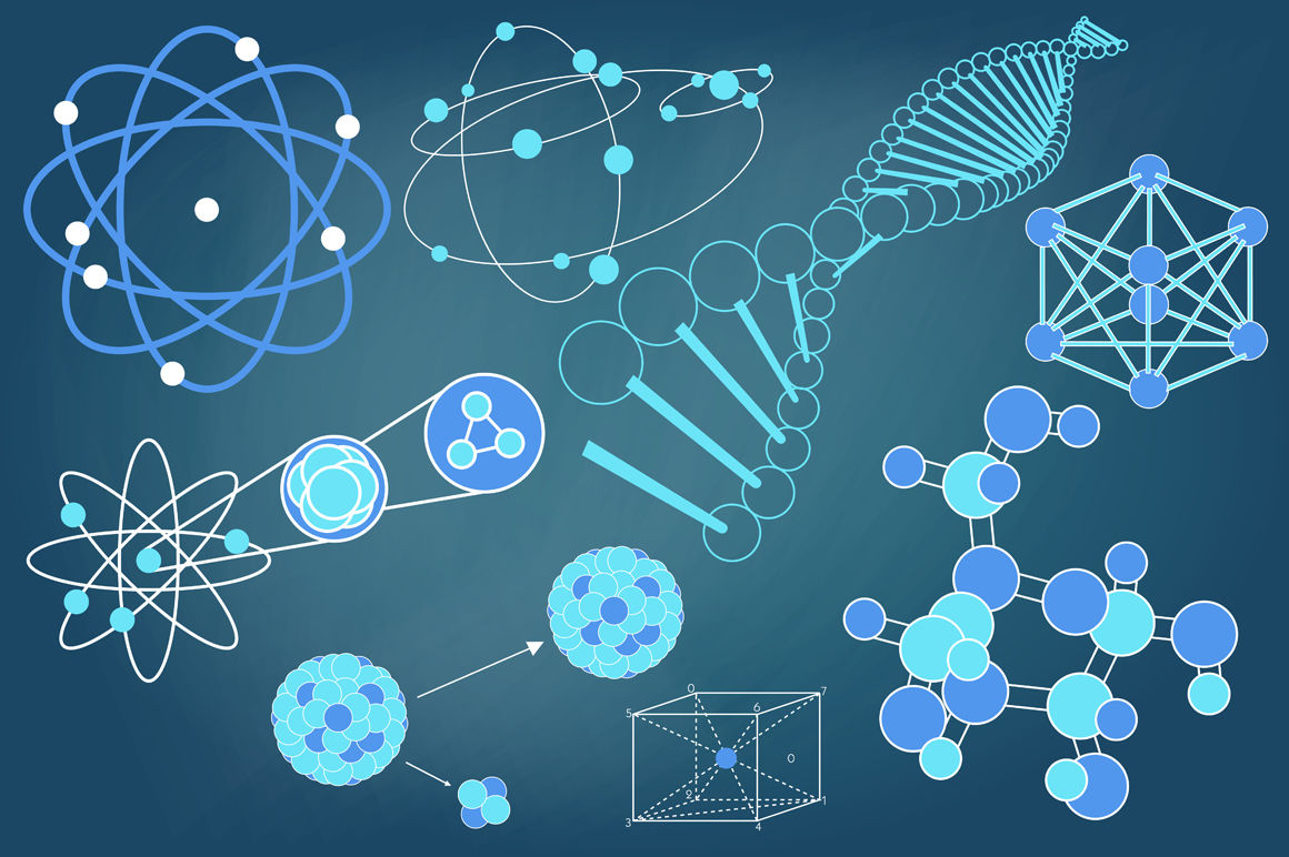 Scientific Diagrams Collection By Ekaart Thehungryjpeg Com