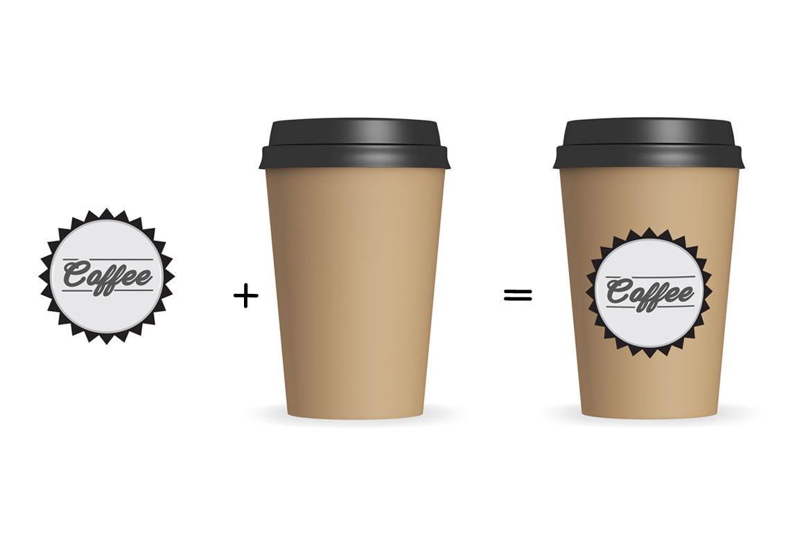 Paper Coffee Cup Mockup V1 By aivos | TheHungryJPEG.com