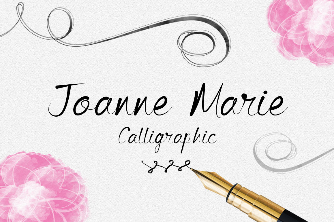 Font Bundle Script Fonts Brush Font Calligraphy Font By