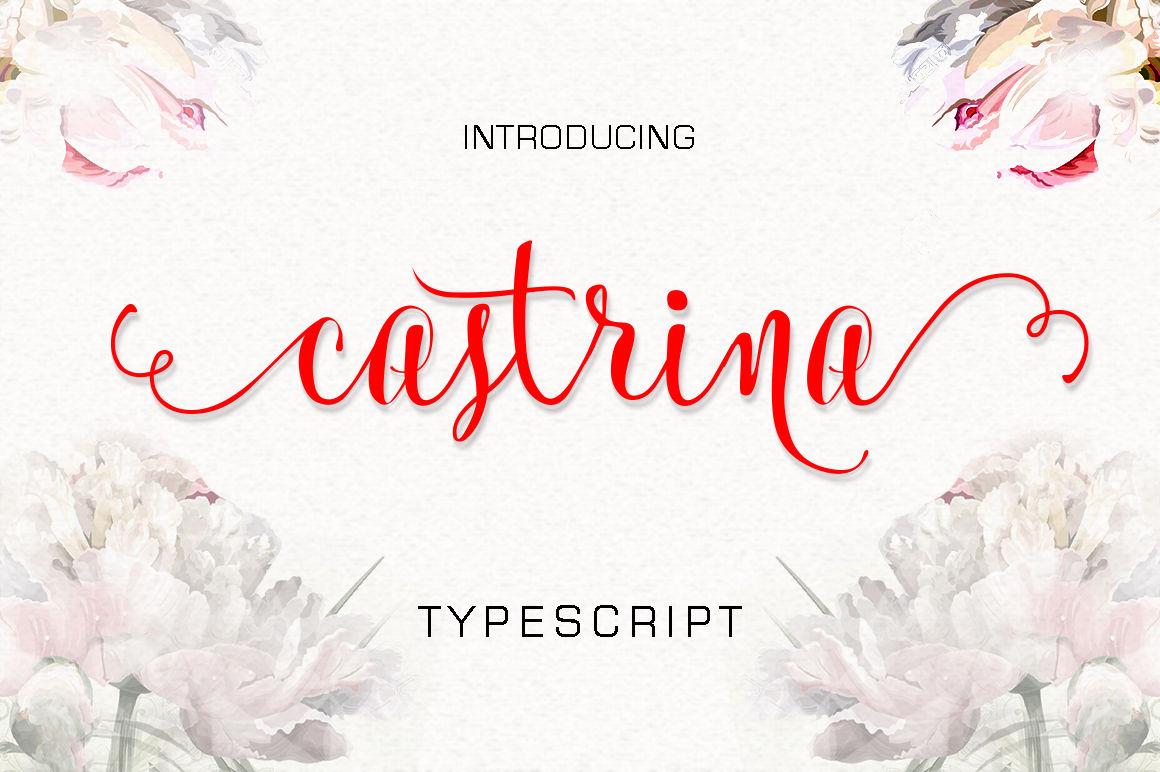 castrina typescript by lostvoltype