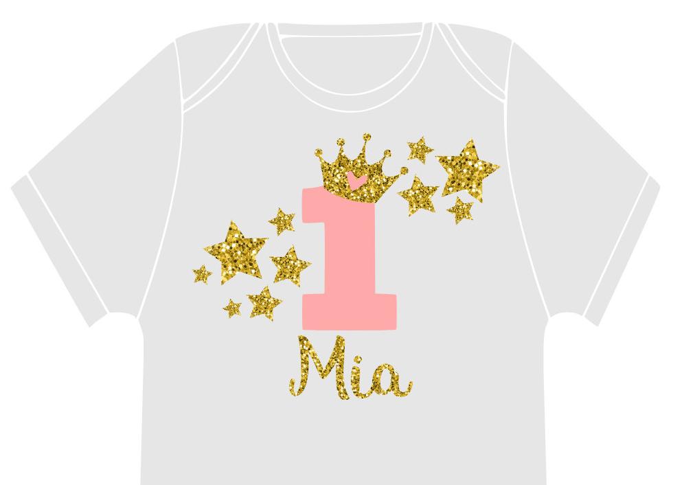 Princess Star Birthday Party Svg Cut File Set By Minty Owl Designs