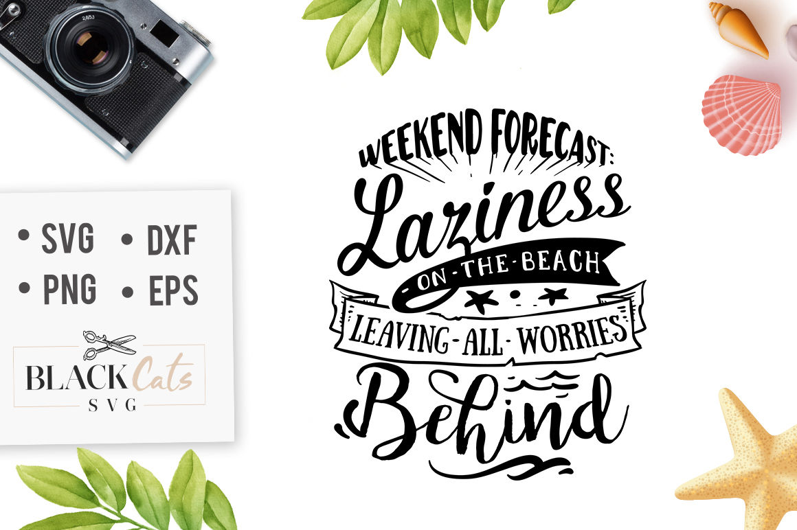 43+ Weekend Forecast – On The Beach – Svg Design