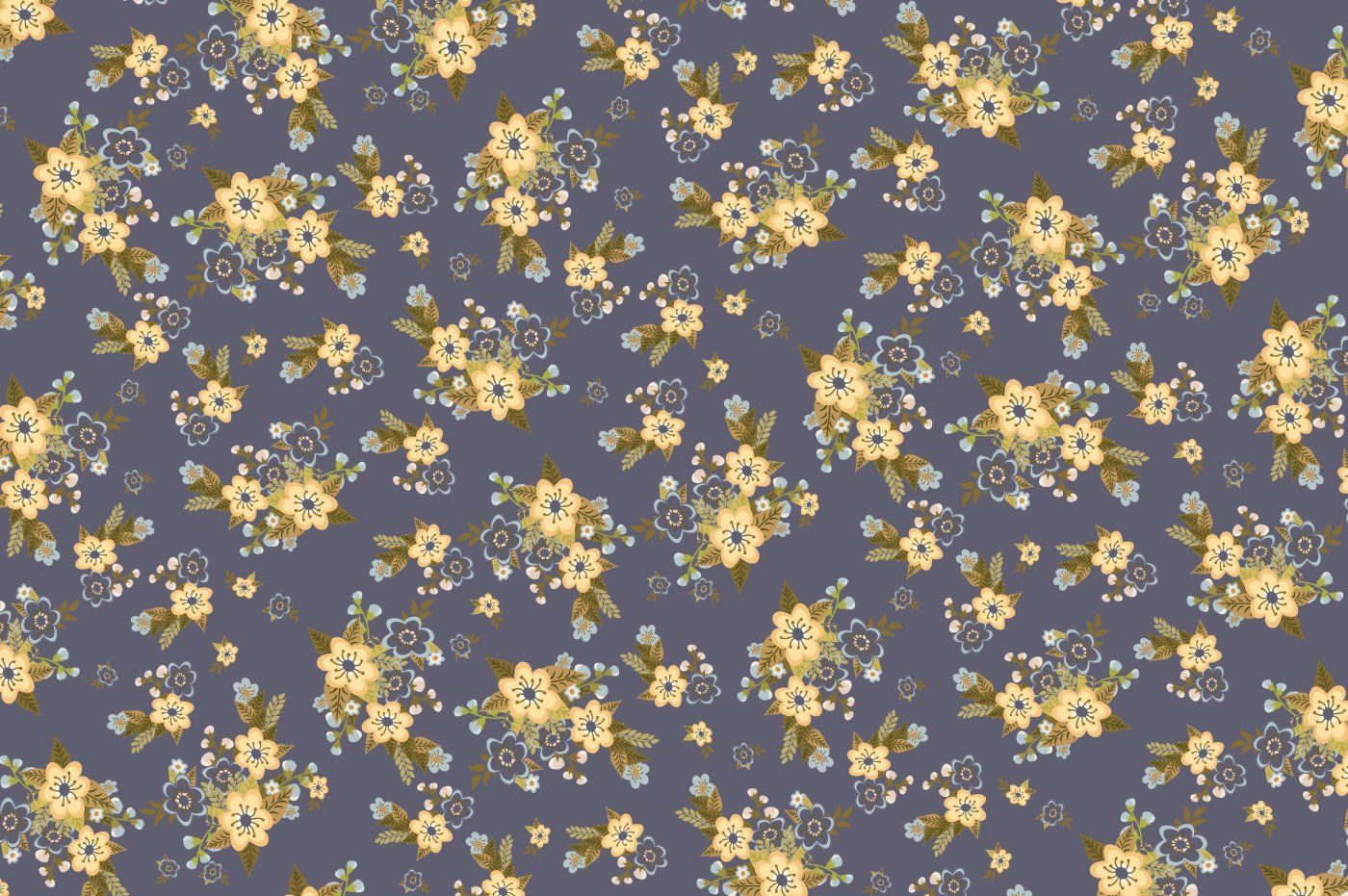 Vintage Floral Pattern Papers Backgrounds By The Pen And Brush