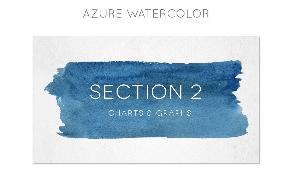 watercolor powerpoint template by blixa 6 studios. Black Bedroom Furniture Sets. Home Design Ideas
