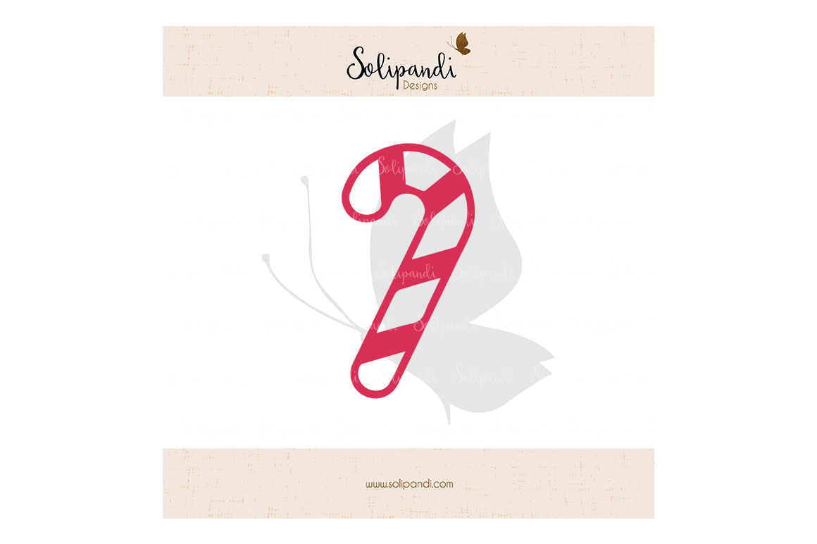 Christmas Candy Cane Svg Cut Files Svg And Dxf Cut Files For
