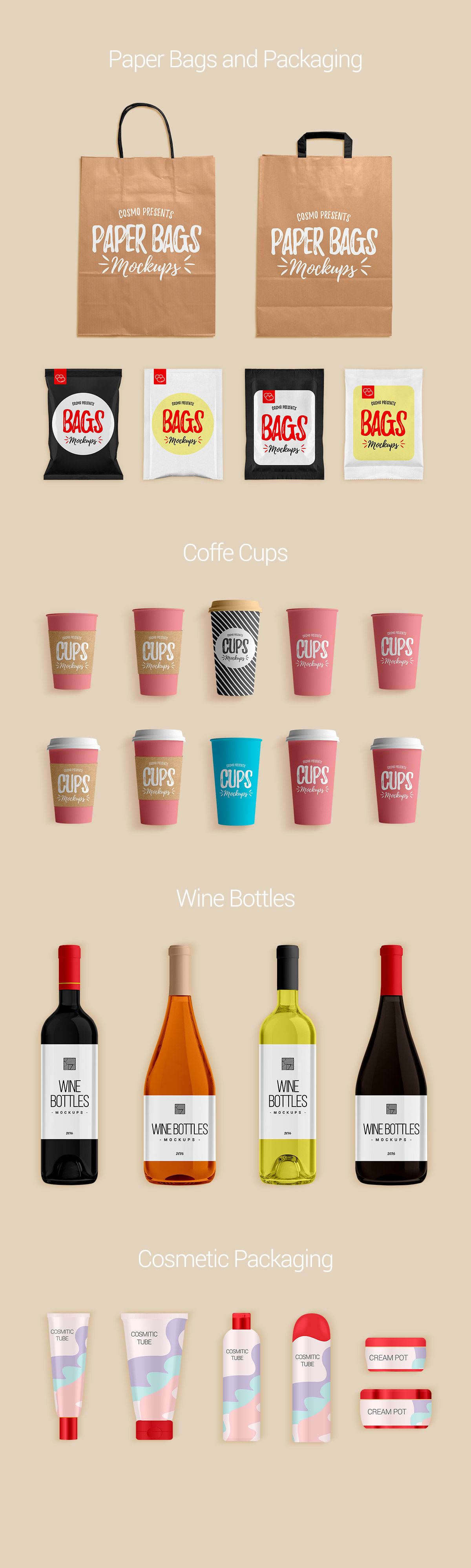 Download Glossy Rose Wine Bottles Box Mockup Yellowimages