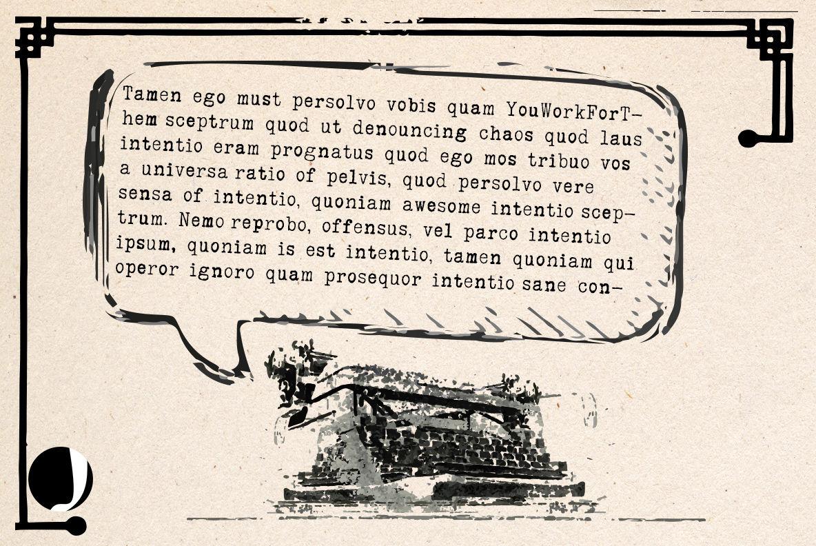 typrighter-Revolution in typewriter Fonts By Jadugar Design