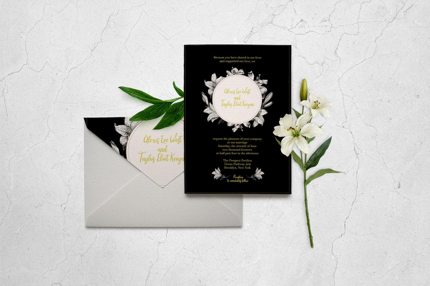 classic wedding invitation card templatesciuridaee