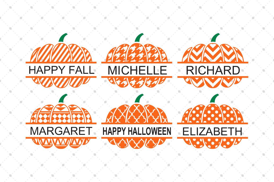 Pumpkin Svg Files Split Pumpkin Svg Files By Svg Cut Studio Thehungryjpeg Com