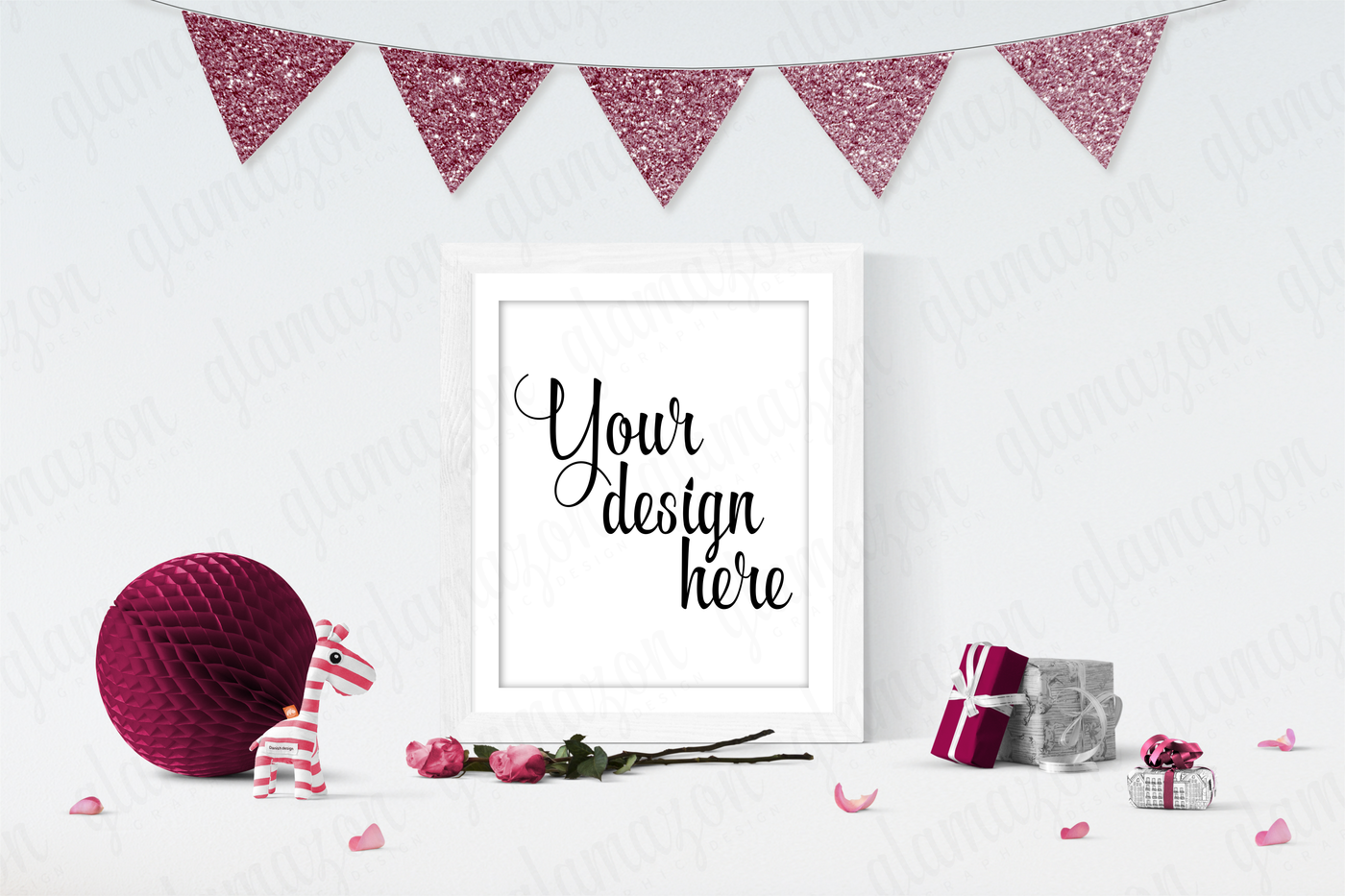 Download Free Poster Mockup Template Yellowimages