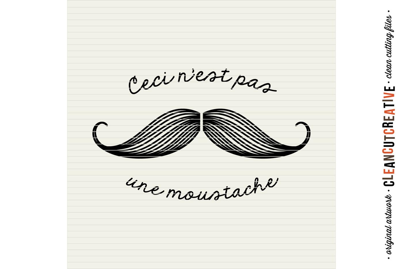 joke SVG Funny SVG Vector Art Png Svg Cut File Clipart I Moustache You Jpg Eps Dxf