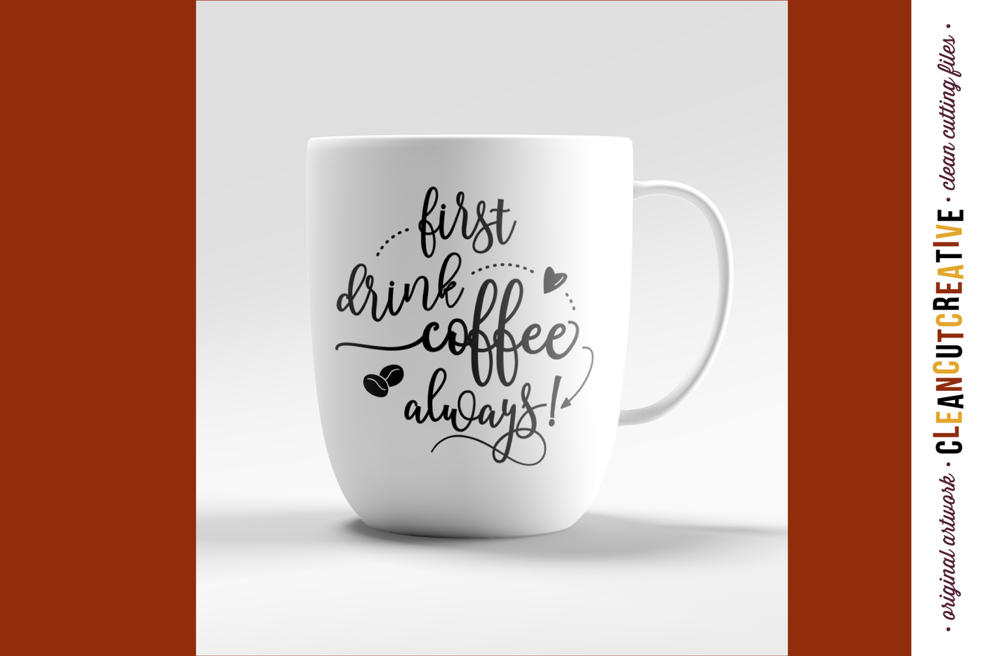 Coffee Cup Sayings Svg