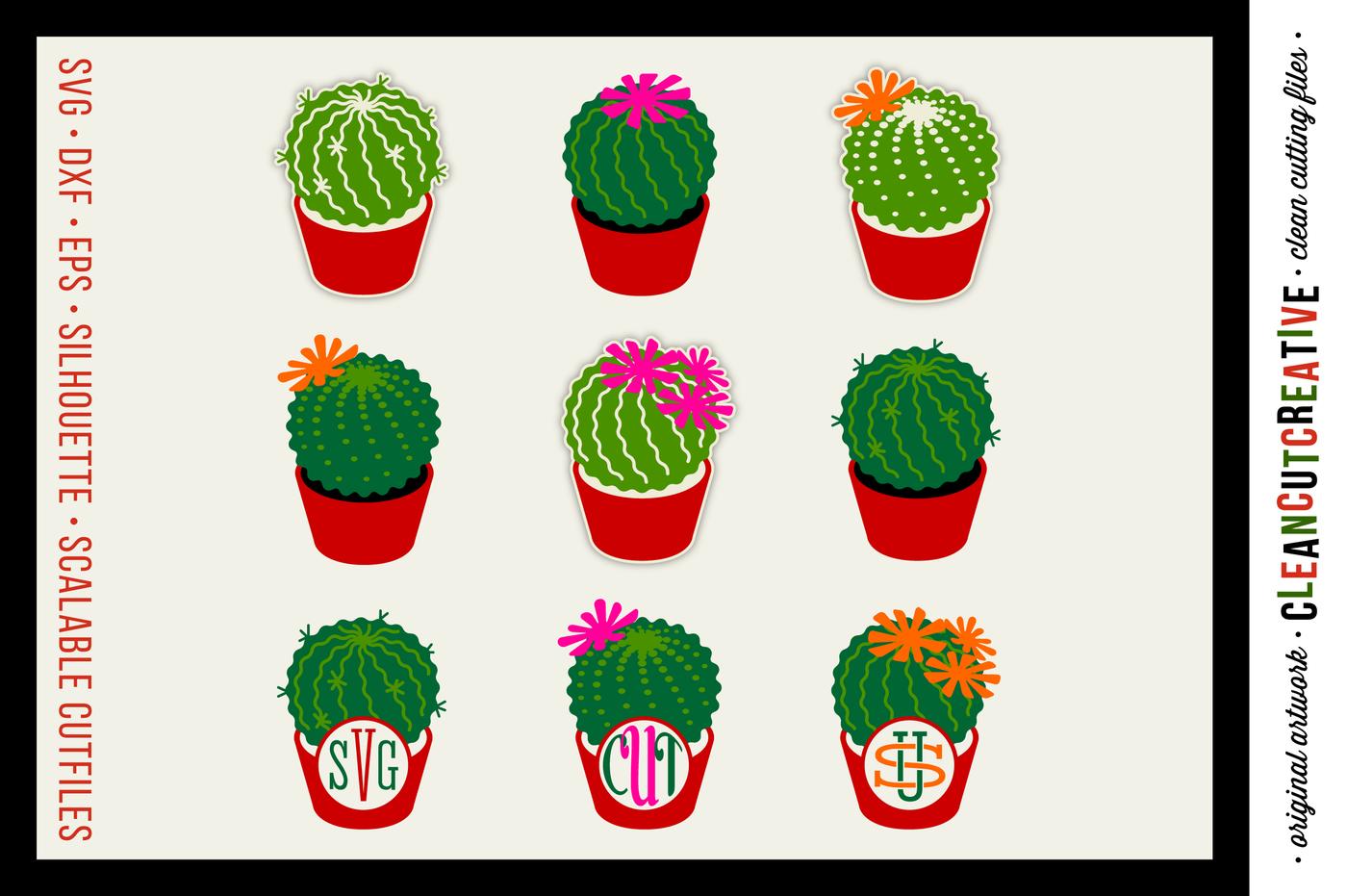 Introduction Sale Cactus Cutfiles Monogram Frame Summer Designs