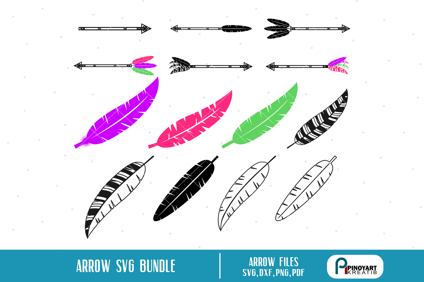 Arrow Svg Feather Svg Arrow Svg Arrow Svg File Feather Svg File
