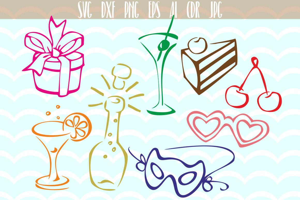 Birthday Party Svg Designs Bundle By Dreamer S Designs