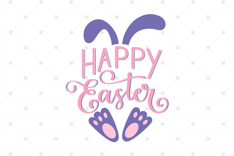 Happy Easter Svg By Svg Cut Studio Thehungryjpeg Com