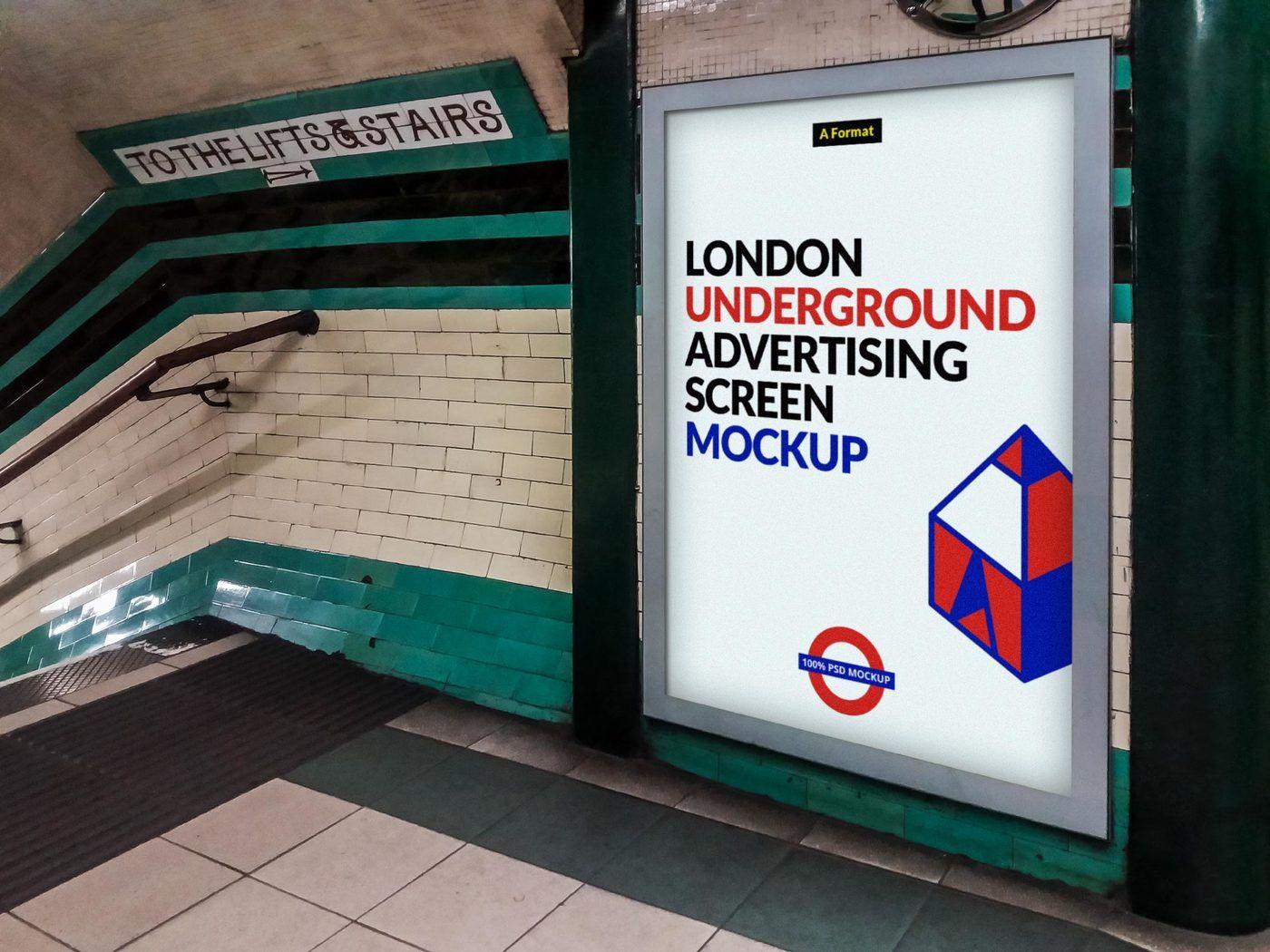 Lipstick Square Tube Mockup