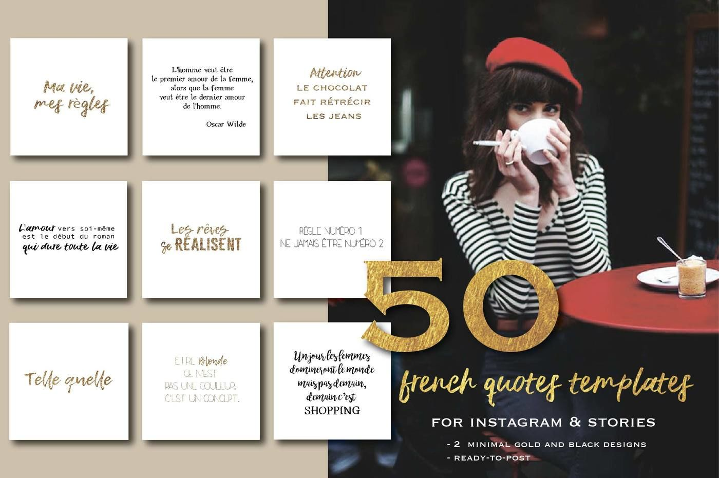 50 French Quotes For Social Media By Digital Essence