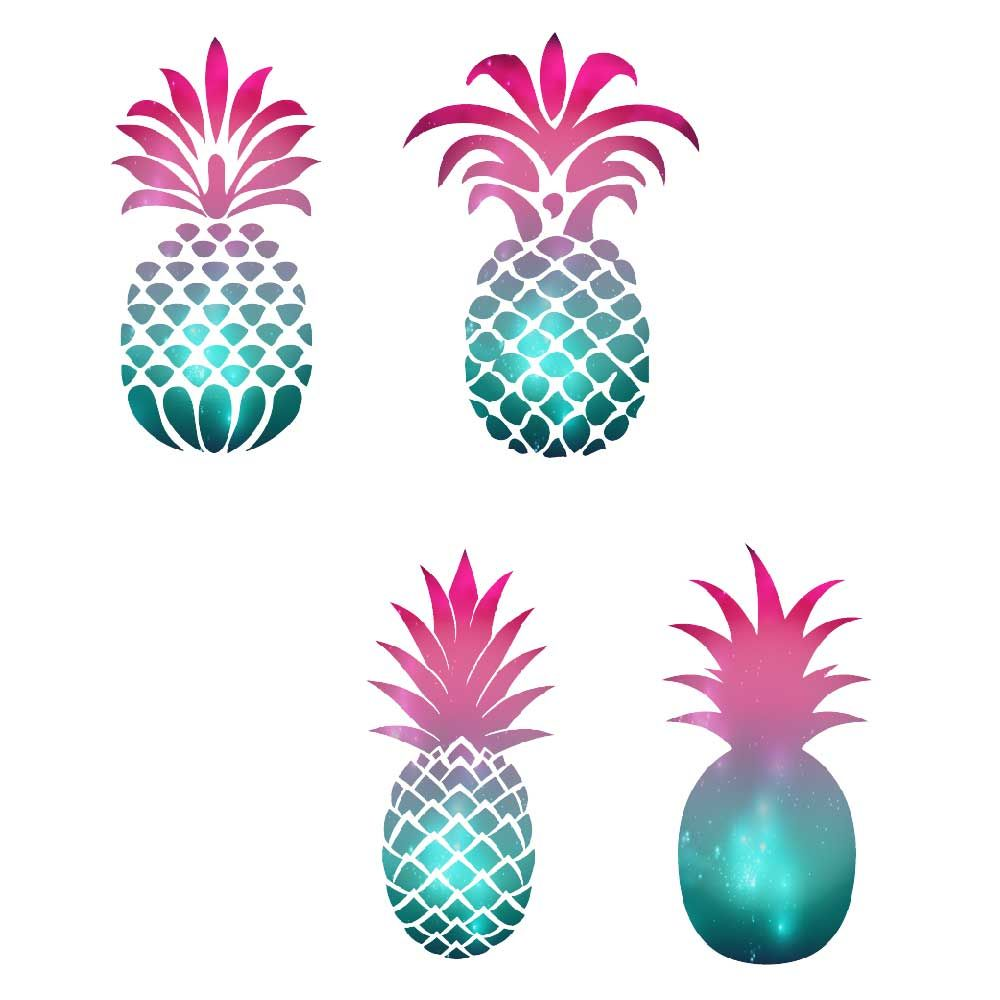 Pineapple Silhouette Clipart By Fantasy Cliparts ...