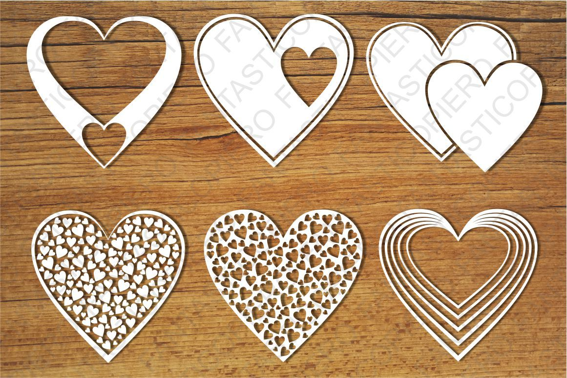 Hearts Svg Files For Silhouette Cameo And Cricut By