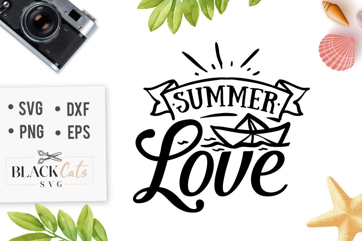 Summer Love Svg By Blackcatssvg Thehungryjpeg Com