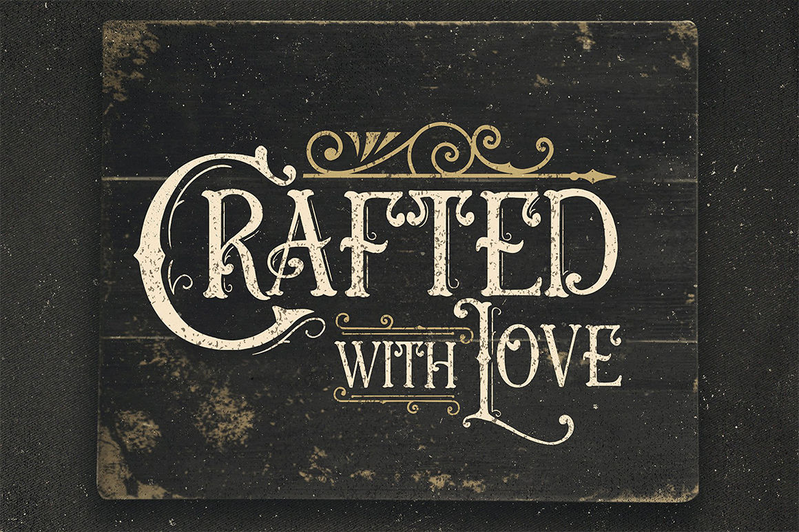 Crafted With Love Svg By Blackcatssvg Thehungryjpeg Com