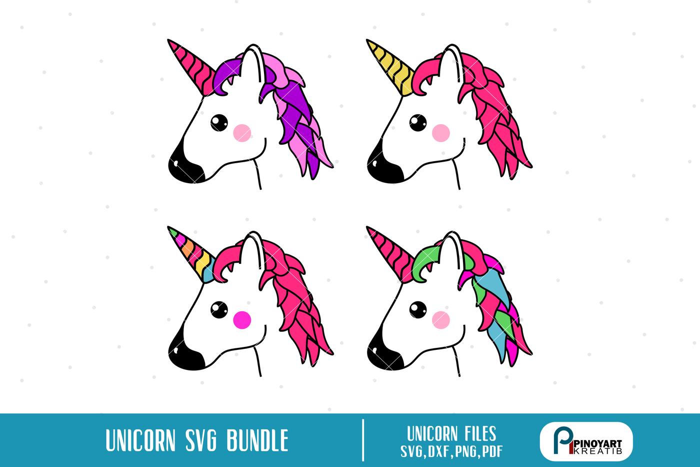 Unicorn Svg Unicorn Svg File Unicorn Dxf File Unicorn Clip Art
