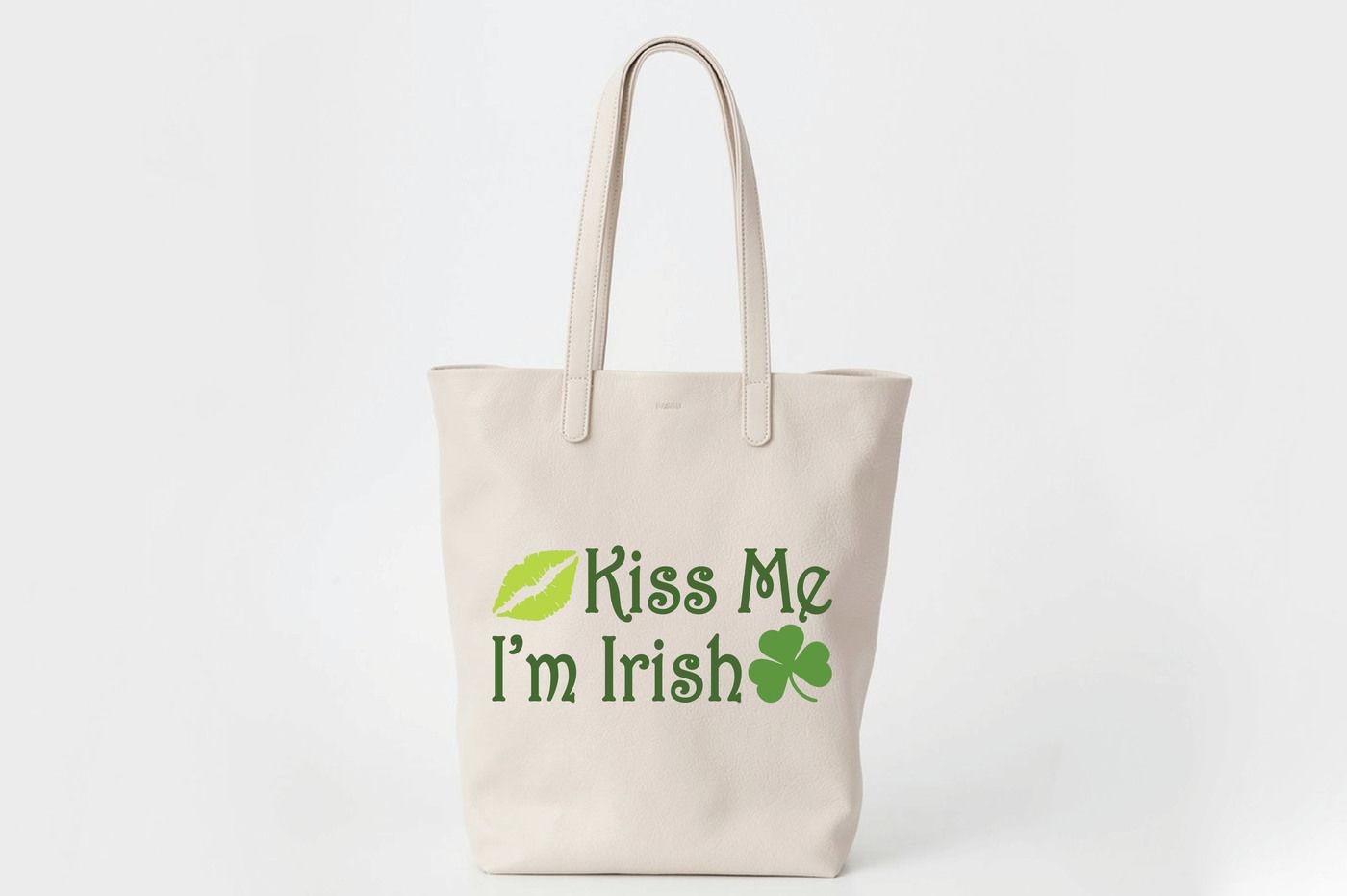 Kiss Me I M Irish St Patrick S Day Svg Cut File Dxf Png Eps By Shannon Keyser Thehungryjpeg Com