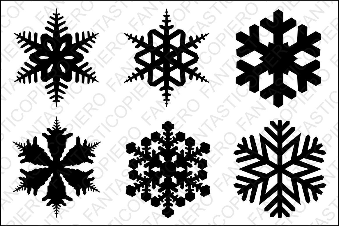 Snowflake Svg Files For Silhouette Cameo And Cricut By