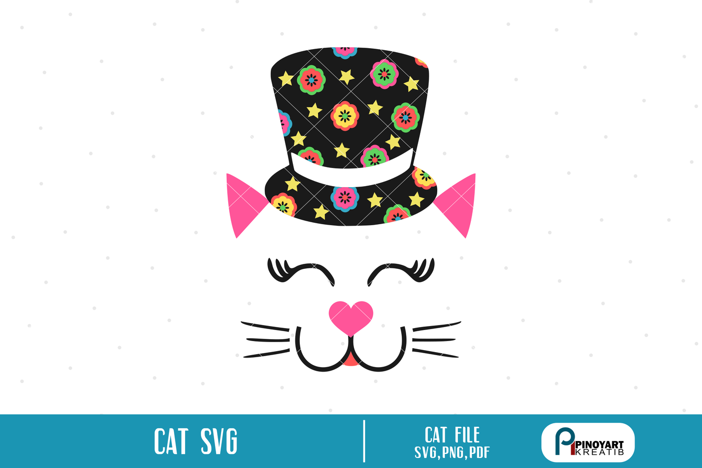 Cat Svg Cat Svg File Cat Pdf File Cat Svg Designs Cat Head Svg Cat