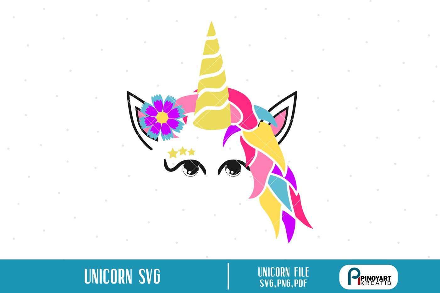 Unicorn Svg Unicorn Svg File Unicorn Png File Unicorn Head Svg Svg