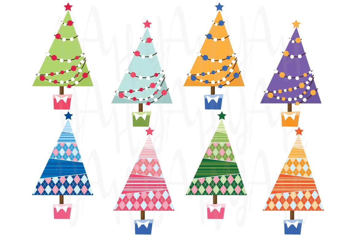 Christmas Tree Clip Art By Yenzarthaut Thehungryjpeg Com