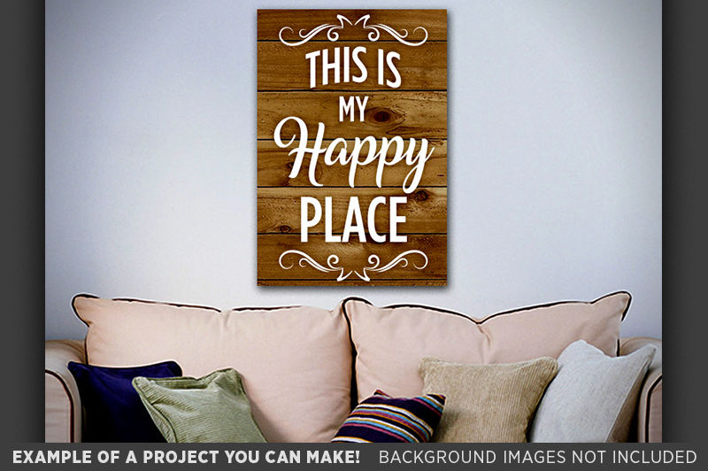 This Is My Happy Place Svg Happy Place Sign Happy Place Art