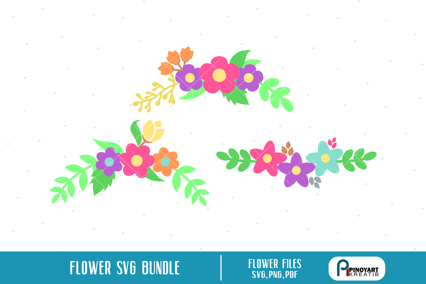 Flower Svg Flower Svg File Flower Dxf Flower Clip Art Floral Svg