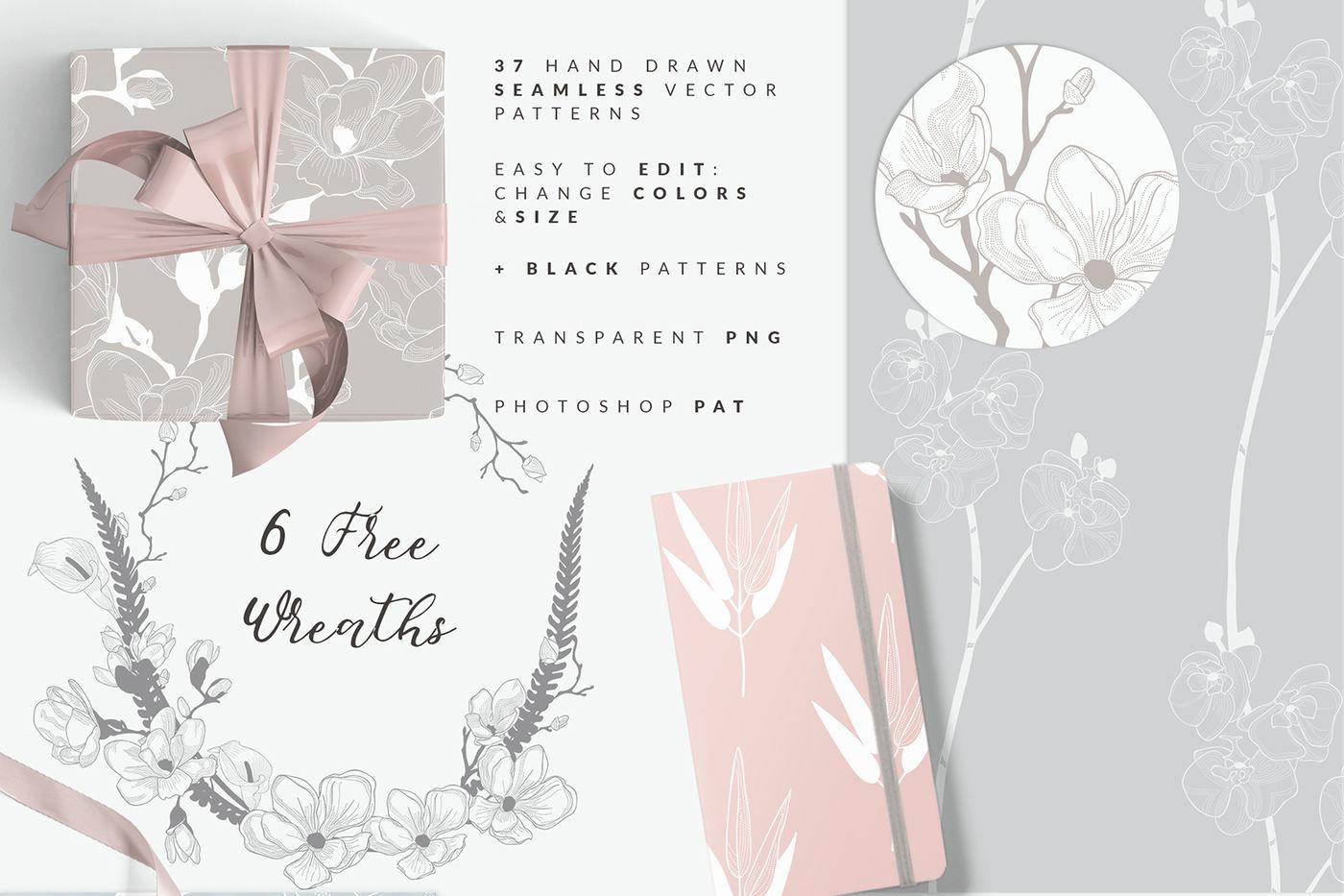 35 Patterns 8 Instagram Templates By O L Y A Thehungryjpeg Com