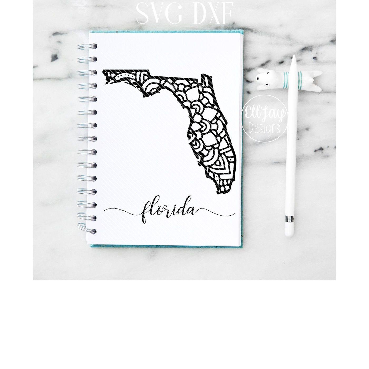Florida Mandala By Elljaydesigns Thehungryjpeg Com