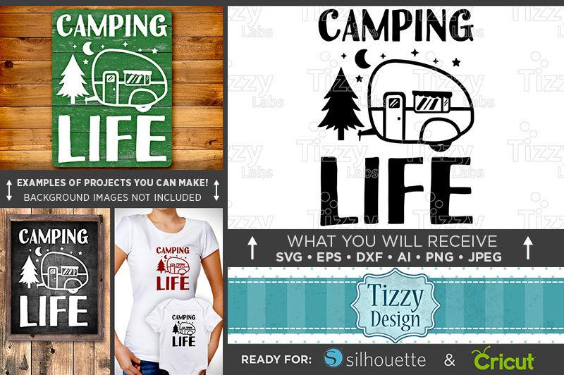Camping Life Svg Camping Life Sign Svg Camping Svg Camping