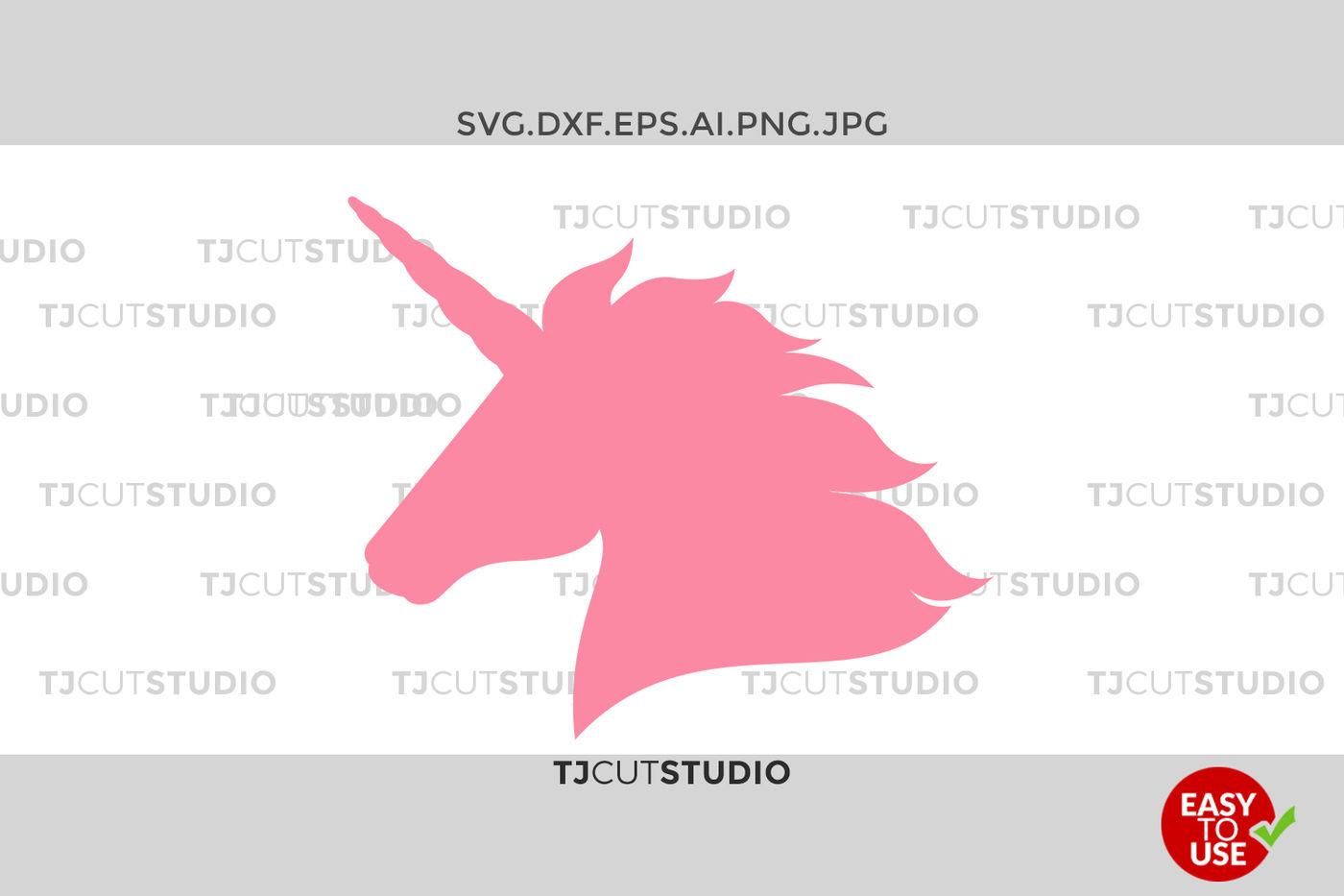 Unicorn Svg Unicorn Svg Unicorn Head Svg By Mstudio