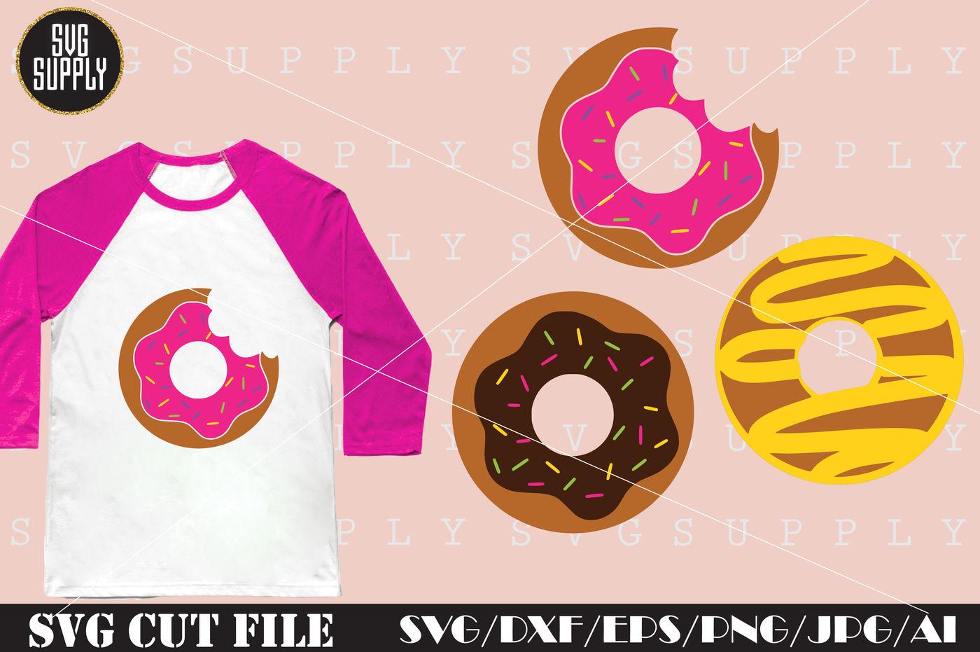 Donut Svg Donuts Svg Cut File By Svgsupply Thehungryjpeg Com