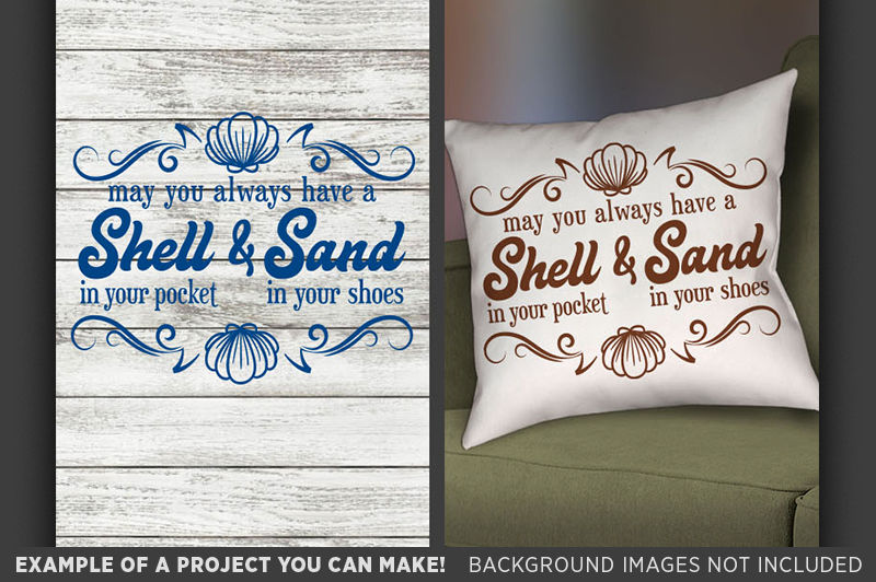 Beach Svg Shell In Your Pocket And Sand In Your Shoes 686 By
