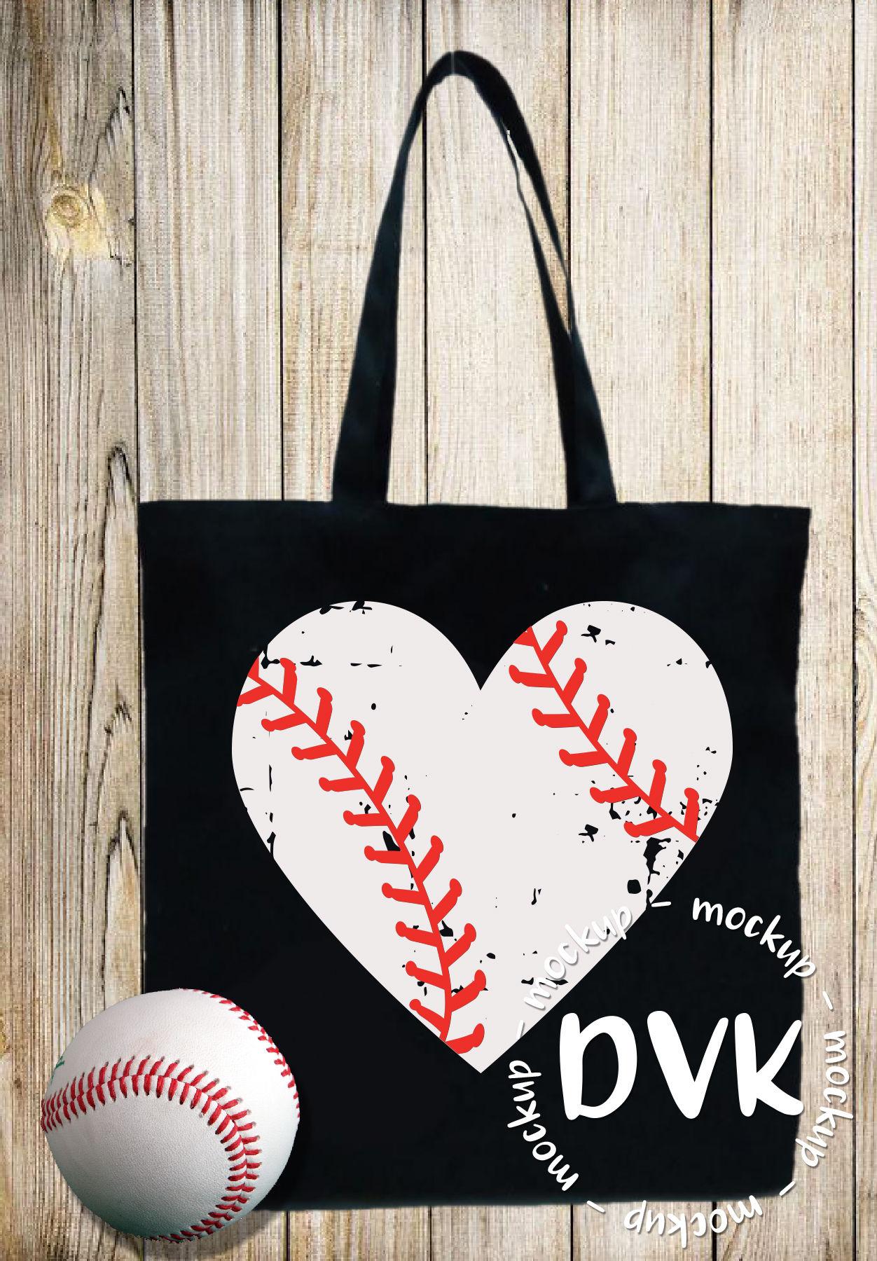 Baseball Svg Baseball Heart Love Baseball Grunge Svg Dxf Cut File By Designs By Victoria K Thehungryjpeg Com