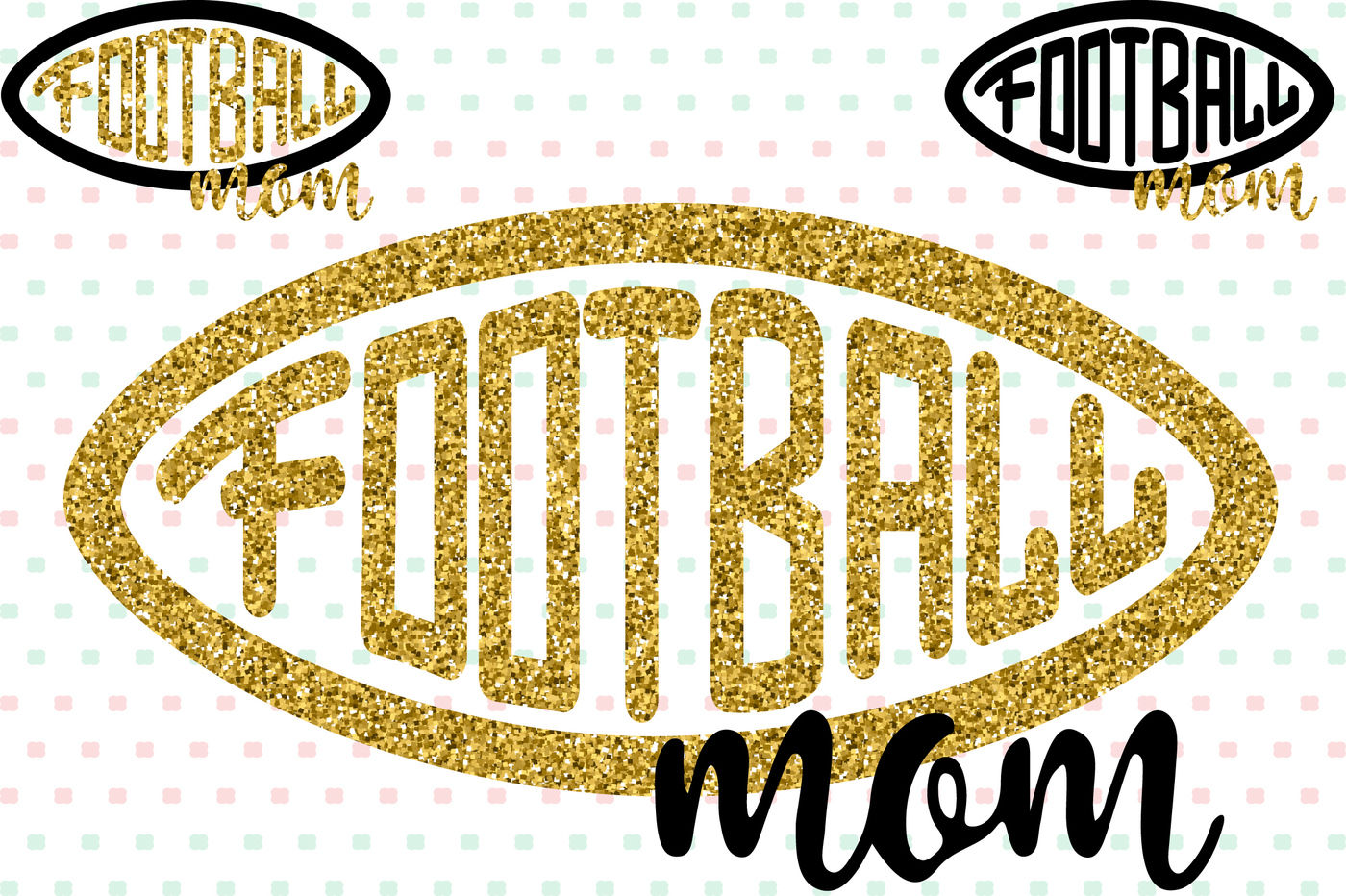 Football Mom Silhouette SVG Quotes sports mom -72sv By ...