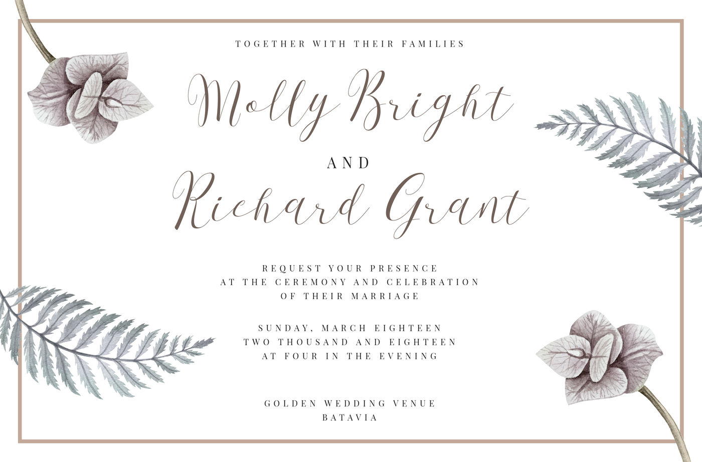 First Choice Wedding Calligraphy Font By Konstantine Studio