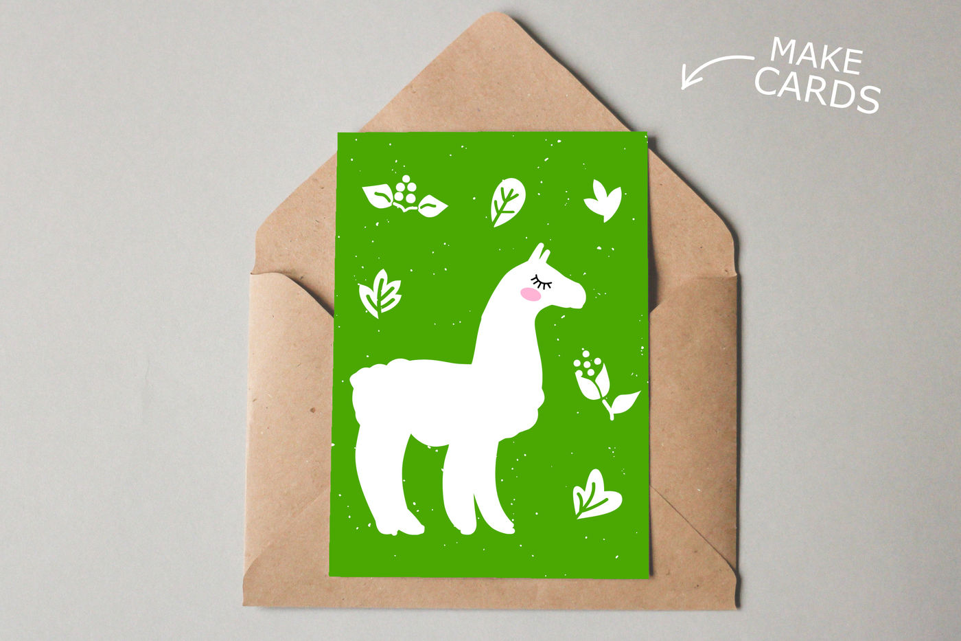 Alpaca Svg Cut Files Clipart Illustration By Sweet Panda Store