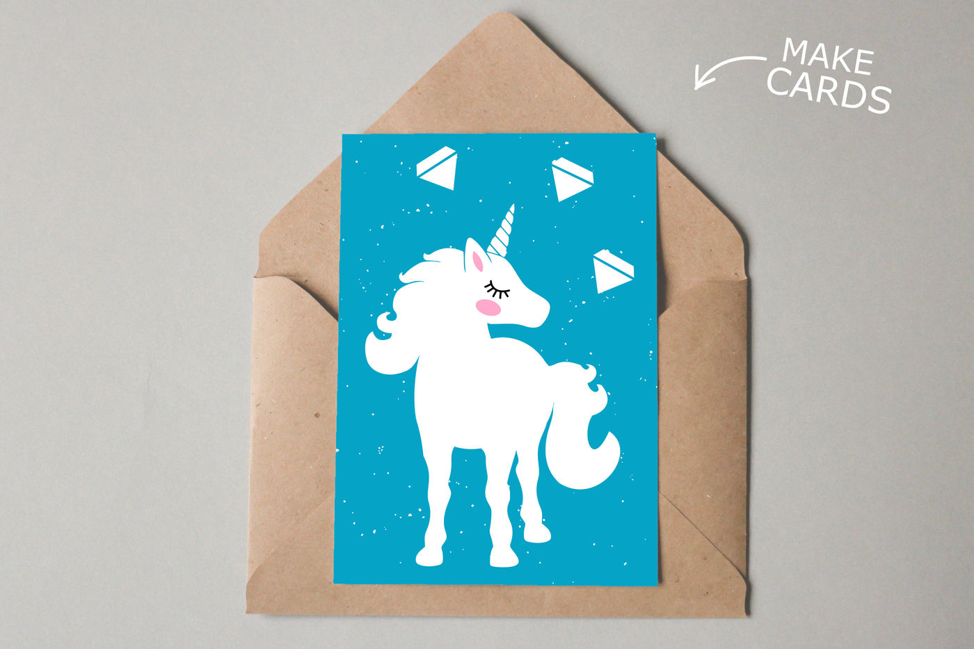 Unicorn Svg Cut Files Clipart Illustration By Sweet Panda Store