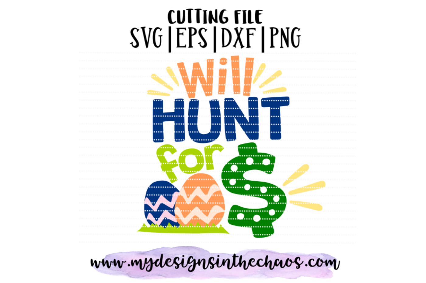 Will Hunt For Money Svg Easter Svg Egg Hunt Svg Silhouette