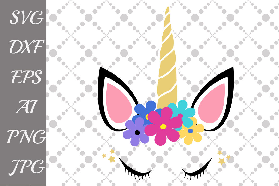 Unicorn Head Svg By Prettydesignstudio Thehungryjpeg Com