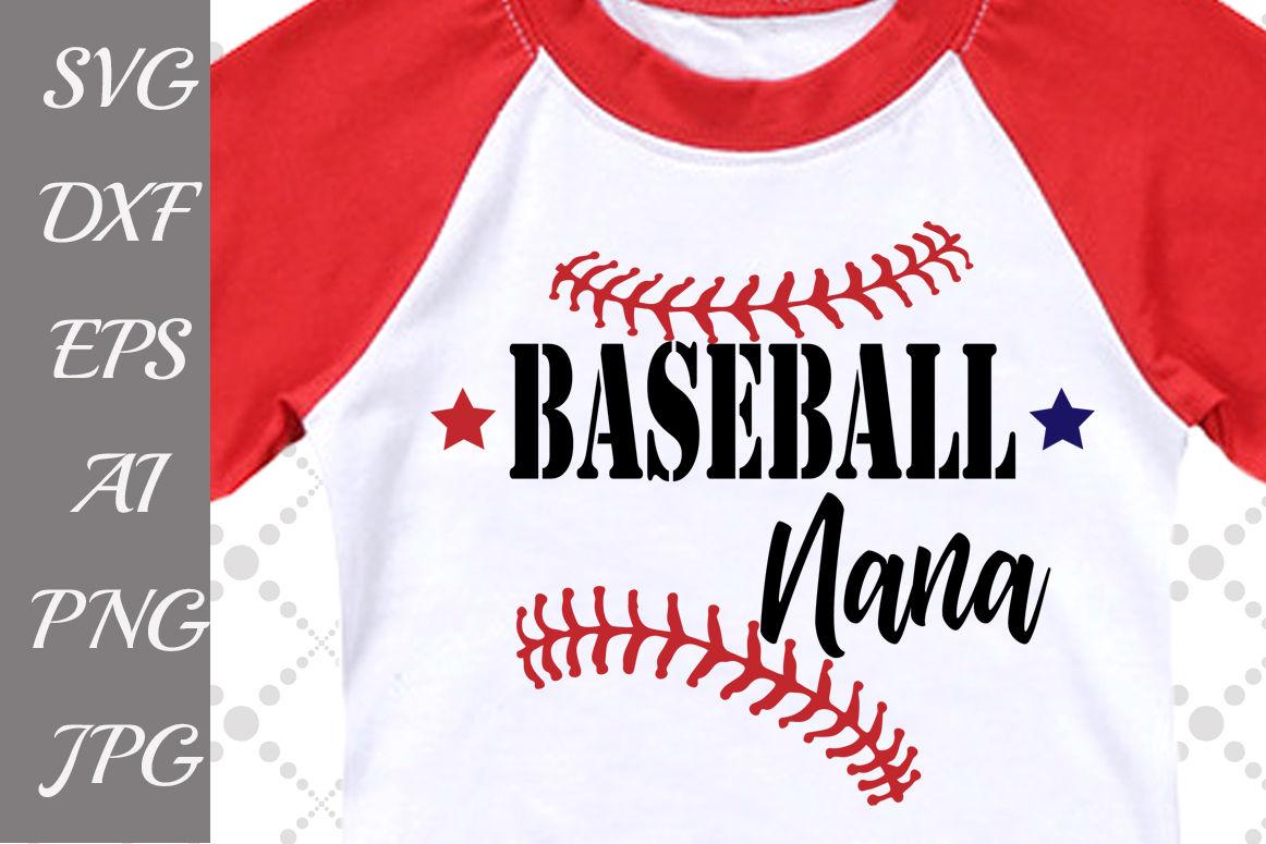 Baseball Nana Svg By Prettydesignstudio Thehungryjpeg Com