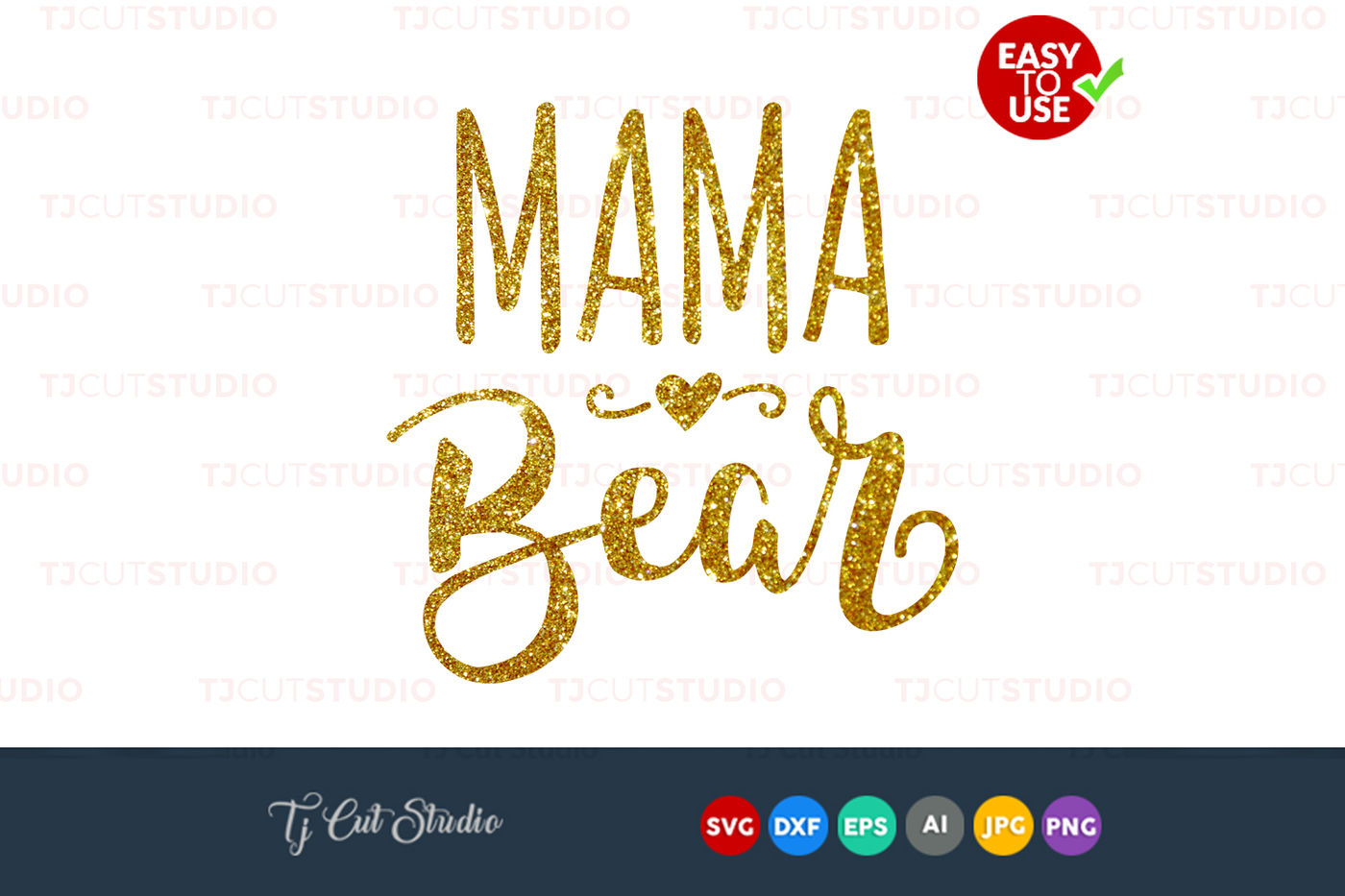 Mama Bear Svg Mothers Day Svg Mama Files For Silhouette Cameo