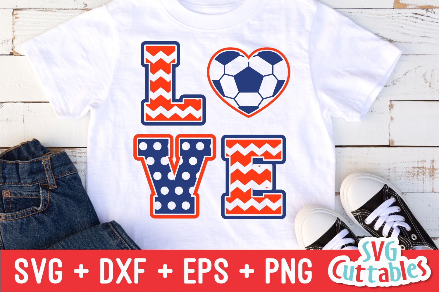 Love Soccer By Svg Cuttables Thehungryjpeg Com